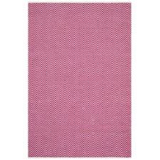 Villa Modern Herringbone Pink Rug
