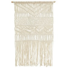 Scandi Macrame Fringed Wall Hanging