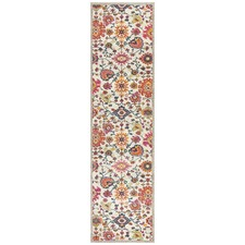 Multi-coloured Wildflower Vintage Look Runner
