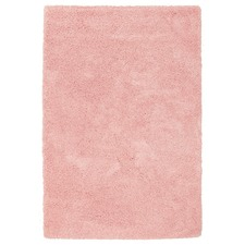 Pink Shag Power Loomed Rug