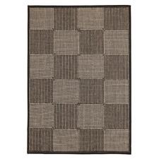 Black Flat Woven Rug