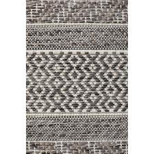 Charcoal Flat Woven Rug