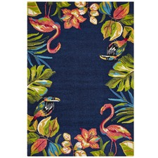 Liana Tropical Hand Tufted Recycled PET Outdoor Rug