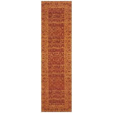 Paprika Duchamps Jacquard Cotton Runner