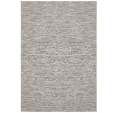 Charcoal Grey Diamond Flat-Woven Rug