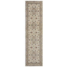 Kashan Vintage Hand-Knotted Wool Runner