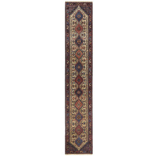 Yalameh Vintage Hand-Knotted Wool Runner