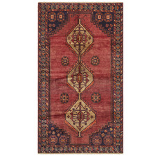 Lori Vintage Hand-Knotted Wool Rug