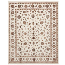 Narayan Vintage Hand-Knotted Wool & Silk Rug