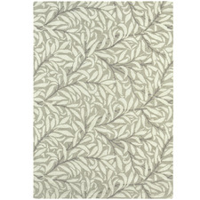 Ivory Willow Wool & Viscose Rug
