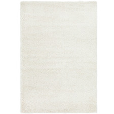 Cream Ultra Plush Modern Shag Rug