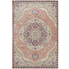 Terracotta Power-Loomed Rug
