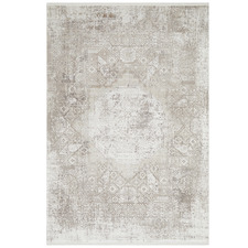 Stone Bamboo Silk & Acrylic Rug