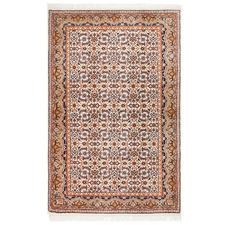 Brown Wool Indian Rug