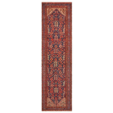 Red Wool Russian Rug