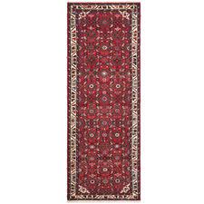 Red Wool Persian Hamadan Runner