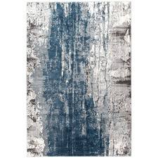 Kendra Blue Power Loomed Rug
