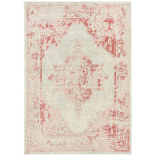 Rose Power-Loomed Bohemian Rug