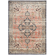 Brick Power-Loomed Transitional  Rug