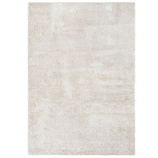 Plush Luxury Light Beige Shag Rug
