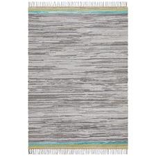 Ocean Jasmine Hand Braided Grey Rug