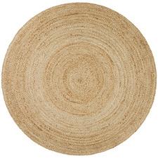 Natural Jute Round Rug