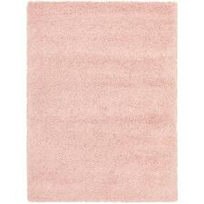 Pink Ultra Plush Modern Shag Rug