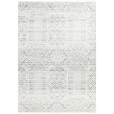 Urmia Silver Power Loomed Modern Rug