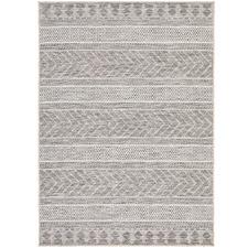 Grey Terrace Flat-Woven Rug