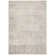 Grey Art Moderne Suzanne Power-Loomed Jute Rug