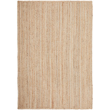 Natural Hand-Braided Jute Rug