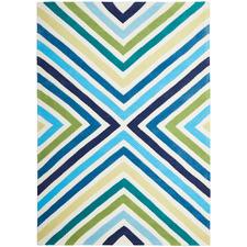 Cross Roads Design Blue/Green Rug