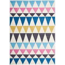 Agueda Bunting Modern Colourful Rug