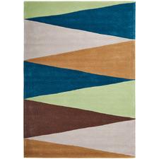 Pistachio Cascade Flag Rug