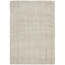 Natural & Cream Hand-Loomed Wool-Blend Rug