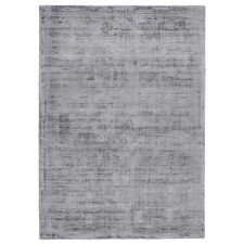 Grey Diona Hand-Loomed Viscose Rug