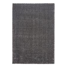 Grey Sienna Power-Loomed Shag Rug