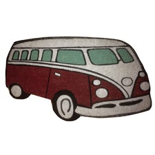 PVC Coir Kombi Door Mat in Red
