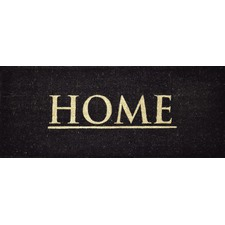 PVC Coir Home Black