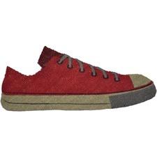 PVC Back CoirShoe Red Doormat