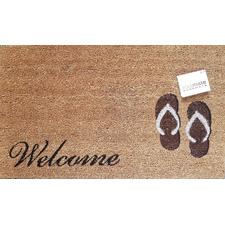 Brown Thong Welcome Doormat