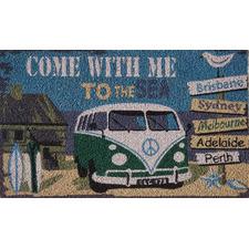 Come With Me Doormat