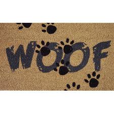 Brown Woof Doormat