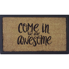 Brown Awesome Doormat
