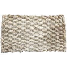 Brown Cierra Jute Yarn Doormat