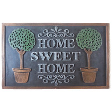 Cyne Home Sweet Home Rubber Doormat