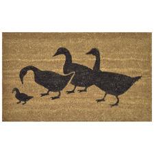 Four Ducks Coir Doormat