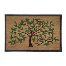 Tree Of Life I Outdoor Doormat