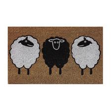 Country Sheeps Outdoor Doormat