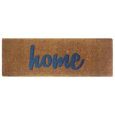 Blue Home Coconut Coir Doormat